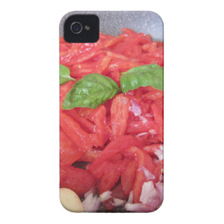 Cooking homemade tomato sauce Case-Mate iPhone 4 case