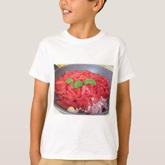 Cooking homemade tomato sauce T-Shirt