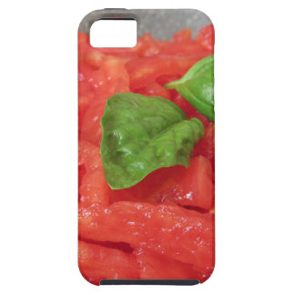 Cooking homemade tomato sauce using fresh tomatoes tough iPhone 5 case