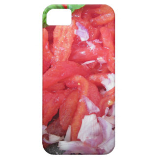Cooking homemade tomato sauce using tomatoes barely there iPhone 5 case