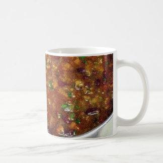 Cooking Hot Chili Basic White Mug