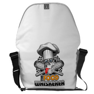Cooking Humor: Food Whiskerer 5 Messenger Bags