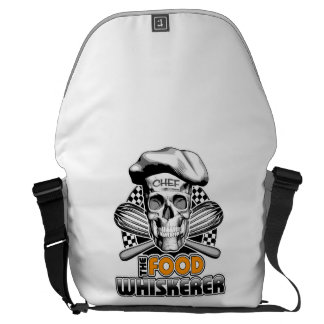 Cooking Humor: Food Whiskerer 6 Commuter Bag