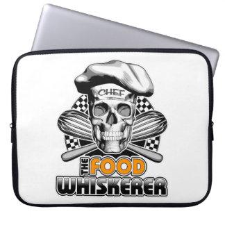 Cooking Humor: Food Whiskerer 6 Computer Sleeve