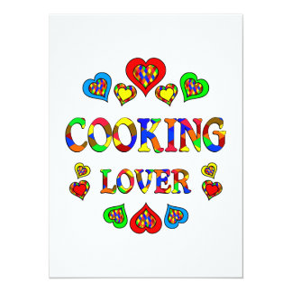 Cooking Lover Personalized Announcements