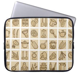 Cooking Lovers Laptop Sleeve