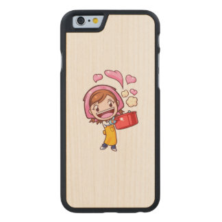 Cooking Mama - Pan Carved Maple iPhone 6 Case