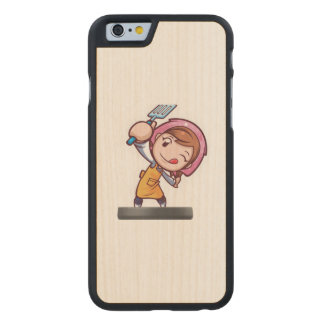 Cooking Mama - Spatula Carved Maple iPhone 6 Case