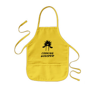 Cooking Monster Kids Apron Aprons