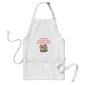 cooking standard apron
