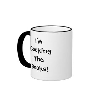 Cooking the Books Financial Quote Ringer Mug