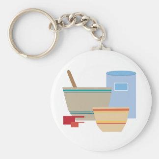 Cooking Utensils Key Ring