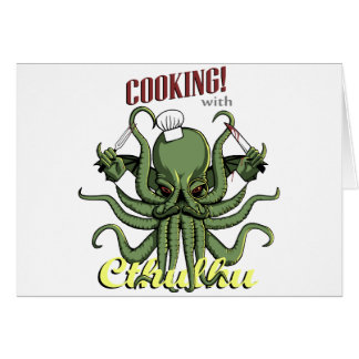 Cooking with Cthulhu Card