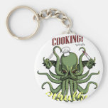 Cooking with Cthulhu Keychains