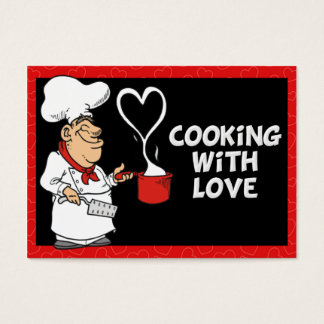 Cooking with Love Business Card