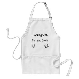 Cooking with Tim and Devin Apron