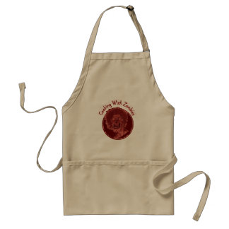 Cooking With Zombies - Red Standard Apron