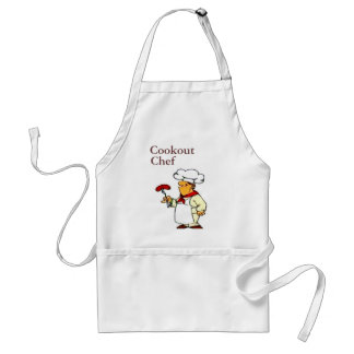 Cookout Chef Adult Apron