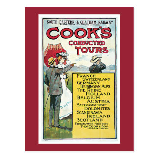 Cook's Conducted Tours Postcard