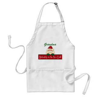 Cook's Definitely on the Nice List with Santa Standard Apron