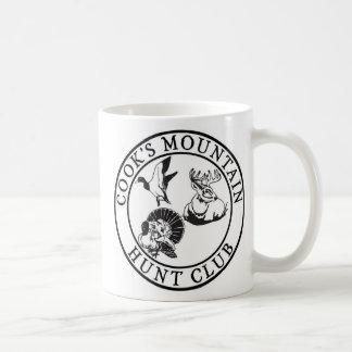 Cook's Mountain Hunt Club Basic White Mug