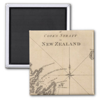 Cook's Strait, New Zealand Magnet