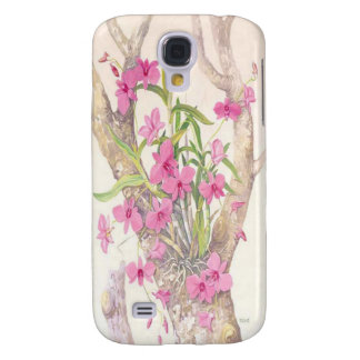 Cooktown Orchid Illustration Samsung Galaxy S4 Cover