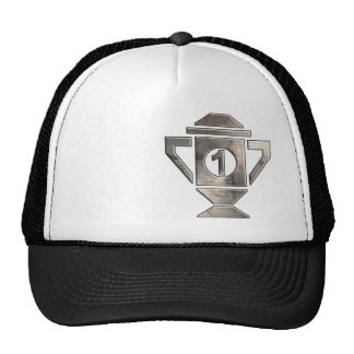 Cool 1st Place Trophy Mesh Hats