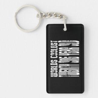 Cool 21 : Worlds Coolest Twenty One Year Old Single-Sided Rectangular Acrylic Keychain