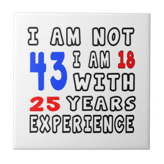Cool 43 Birthday Designs Tiles