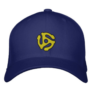 COOL 45 spacer DJ CAP Personalize it! Embroidered Hats
