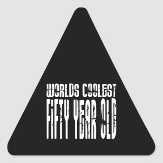 Cool 50th Birthdays Worlds Coolest Fifty Year Stickers