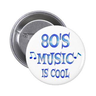 Cool 80s 6 cm round badge