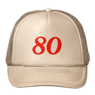 Cool 80th Birthday Gifts Cap