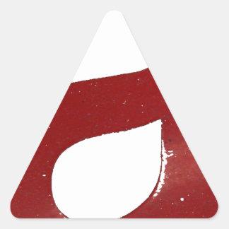 Cool A Triangle Sticker