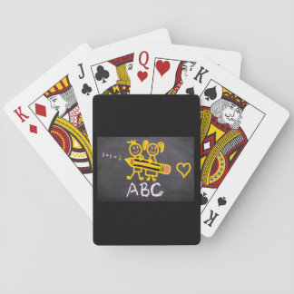 Cool ABC School Playing Cards