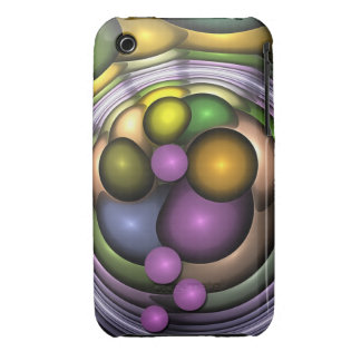 Cool abstract bubbles iPhone 3/3GS case Case-Mate iPhone 3 Cases