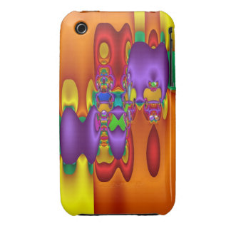 Cool abstract colourful iPhone 3G/3GS Case iPhone 3 Covers
