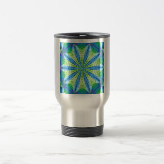 Cool Abstract Earth and Water Travel Mug