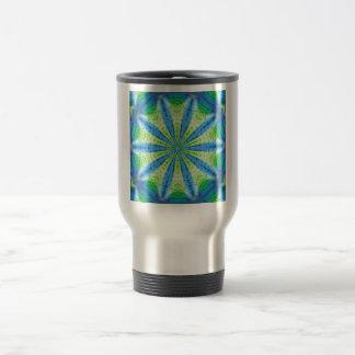 Cool Abstract Earth and Water Travel Mug