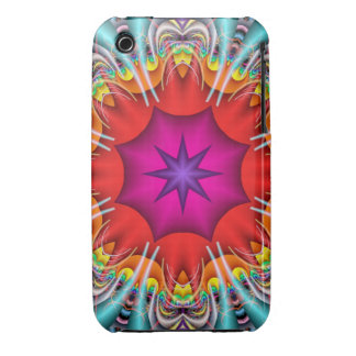 Cool abstract iPhone 3 case Kaleidoscope