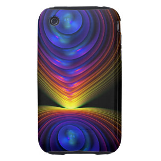 Cool abstract iPhone 3 case The Light Show
