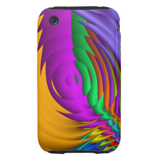 Cool abstract iPhone 3G/3GS Case-Mate Tough™ iPhone 3 Tough Cover