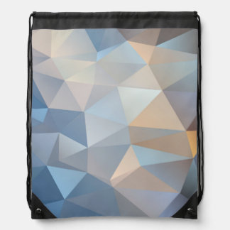 Cool Abstract Triangle Pattern Drawstring Bag