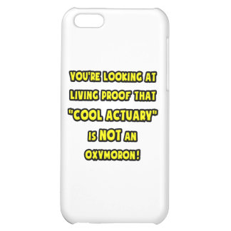 Cool Actuary Is NOT an Oxymoron iPhone 5C Cover