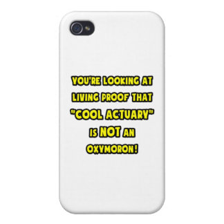 Cool Actuary Is NOT an Oxymoron Cases For iPhone 4