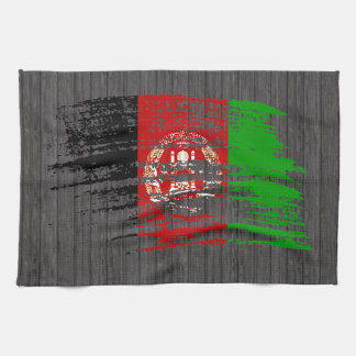 Cool Afghan flag design Tea Towel