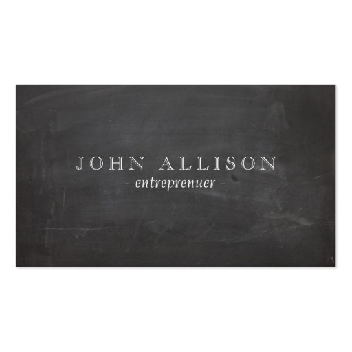 Cool Aged Vintage Guy's Black Hip Calling Business Card Templates