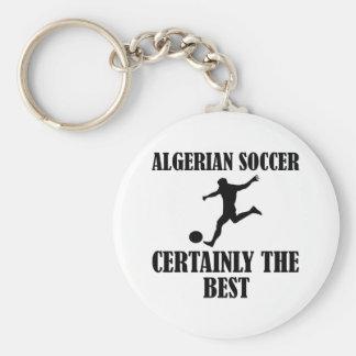 cool Algerian soccer designs Key Chains