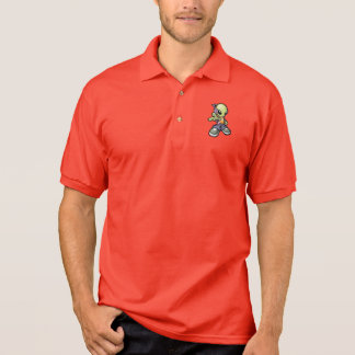 Cool Alien Polo Shirt